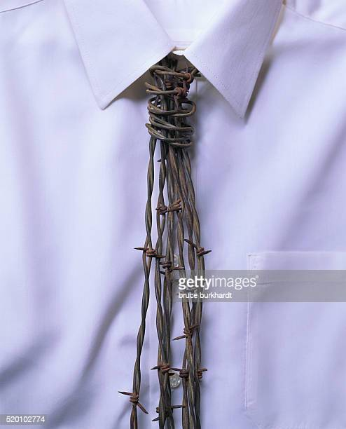Barbed Wire Necktie