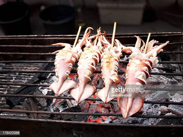 Barbequed Squid