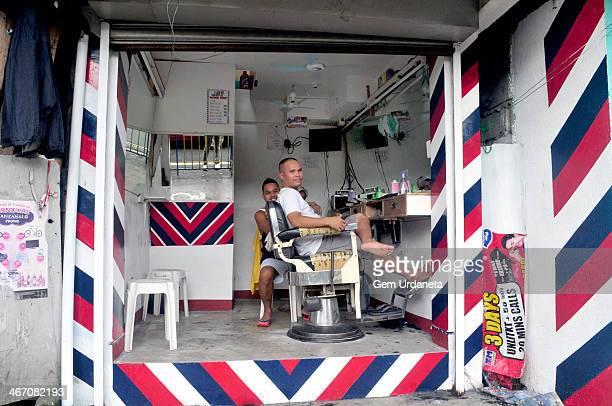 Barber shop an opendoor phlippine barbershop 9 de Pebrero Mandaluyong Philippines
