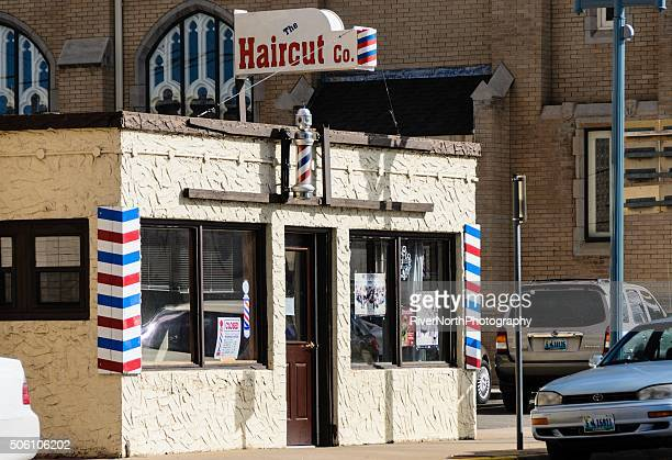 Barber Shop, Laramie, Wyoming