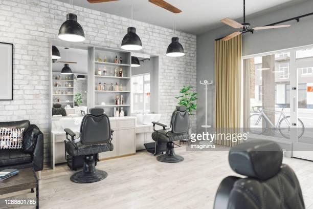 barbiere - salone di parrucchiere foto e immagini stock
