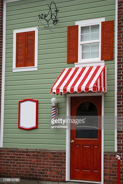 barber shop - barber pole stock pictures, royalty-free photos & images