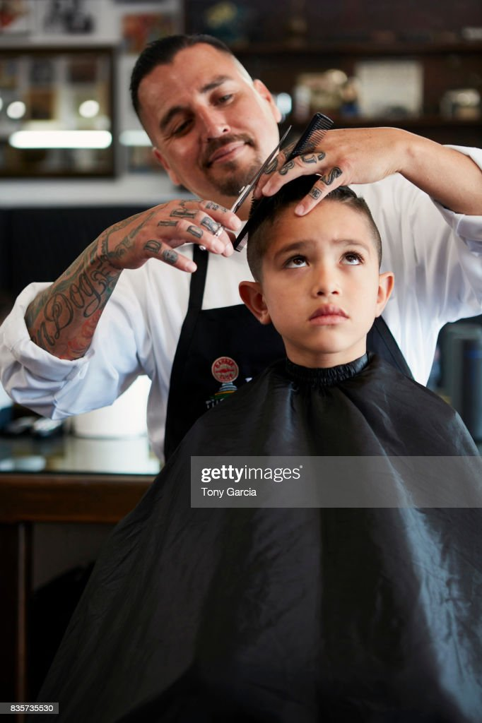 Barber shop : Stock Photo
