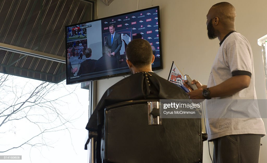 Xavier Ford Gives Chris Thatch A Haircut At Hollywoods Barber Shop