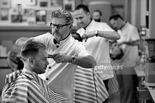 barbers in Arbeit