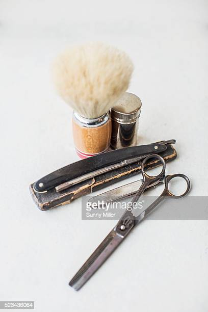 Barber's tools
