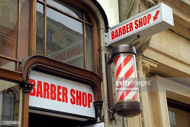 Barbershop and pole