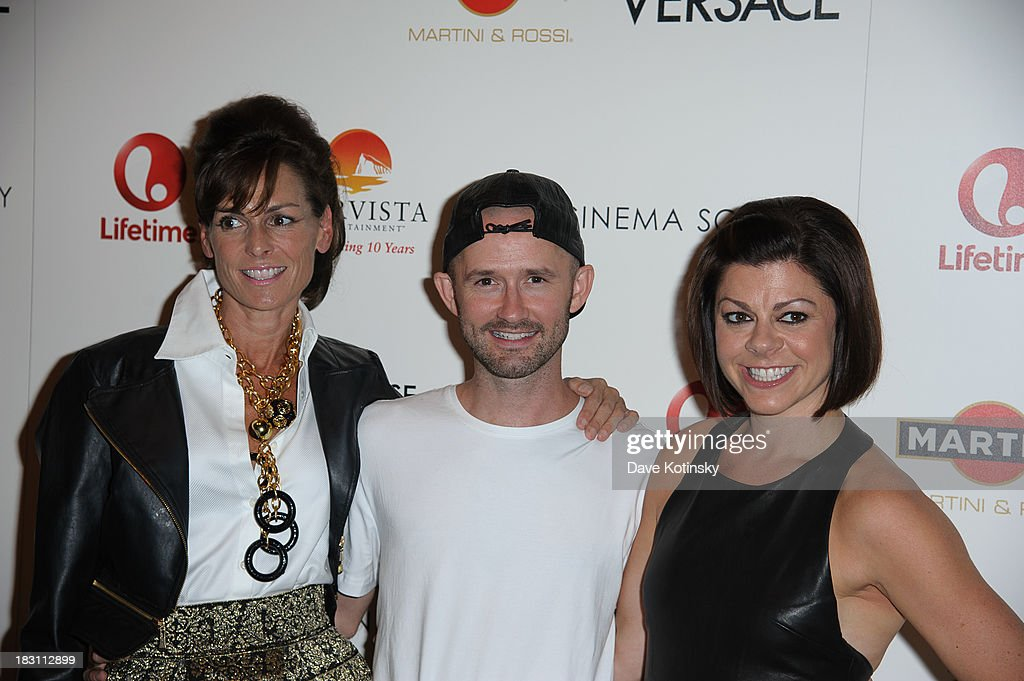 Barbet Smith, Derek Roche, Amy Salinger attend Marvista Entertainment And Lifetime With The Cinema Society Host A Screening Of 'House Of Versace' at MOMA on October 3, 2013 in New York City.