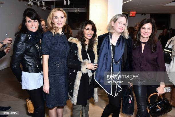Barbet Smith Luiza Petre Mrinalini Kumari Anne Knight and Susan Bond attend Follow Your Star Book Launch at 800 B Fifth Avenue on November 30 2017 in...