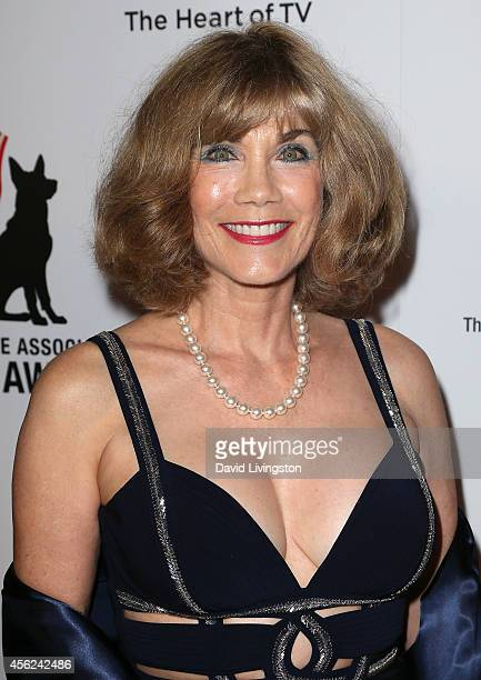 Barbi Benton attends the 4th Annual American Humane Association Hero Dog Awards at The Beverly Hilton Hotel on September 27 2014 in Beverly Hills...