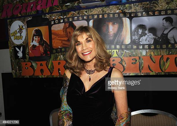 Barbi Benton attends the Chiller Theatre Expo Day 1 at Sheraton Parsippany Hotel on October 23 2015 in Parsippany New Jersey