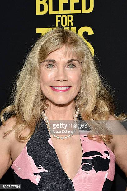 Barbi Benton attends the premiere of Open Road Films' Bleed For This at Samuel Goldwyn Theater on November 2 2016 in Beverly Hills California