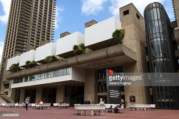 Barbican Centre in London during summer Picture taken in June 2013