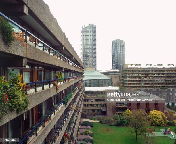 Barbican Estate London The architects gave to London the first significant challenge to the postwar consensus of urban decentralisation