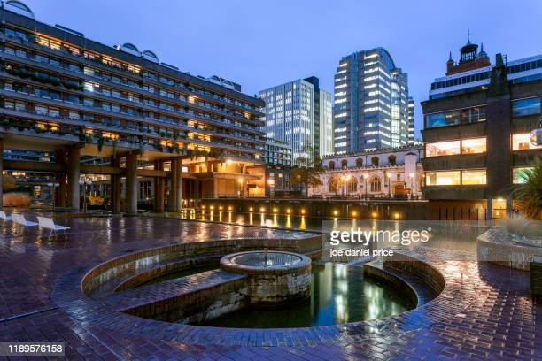 barbican, london, england - barbican centre london stock pictures, royalty-free photos & images