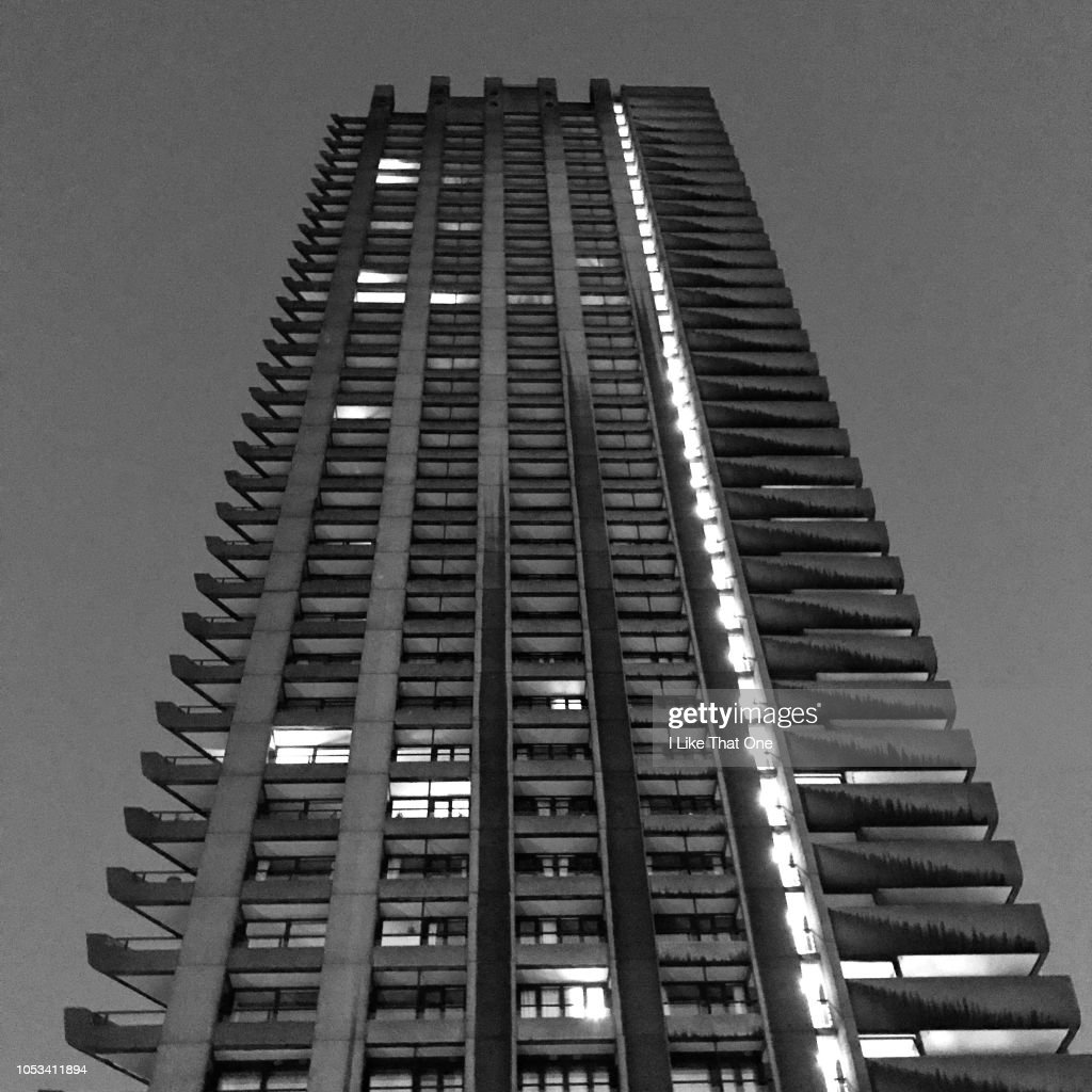 A Barbican Tower London : Stock Photo
