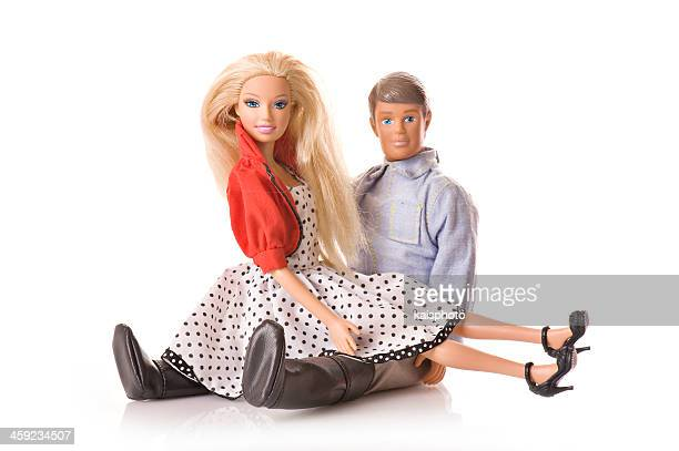 barbie and ken - barbie stock photos and pictures