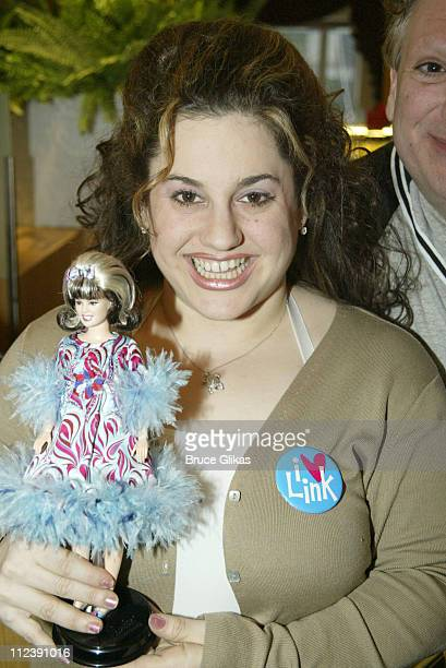 Barbie as Tracy Turnblad a doll to be auctioned off to benefit Broadway Cares Equity Fights Aids online at wwwbroadwaycaresorg Marissa Jaret Winokur...
