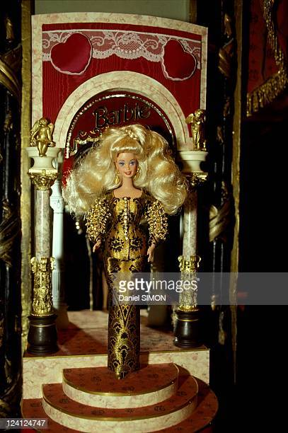 Barbie Doll arrives at Grevin Museum in Paris France on December 01 1993