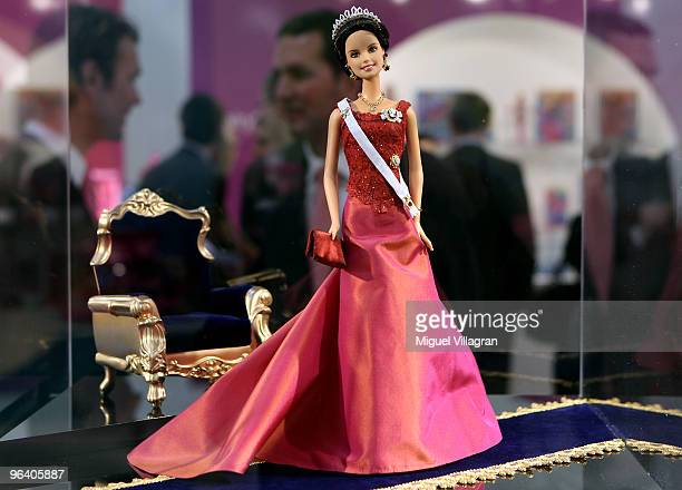 Barbie doll depicting Crown Princess Victoria of Sweden is displayed during the International Toy Fair on February 4 2010 in Nuremberg Germany 2700...