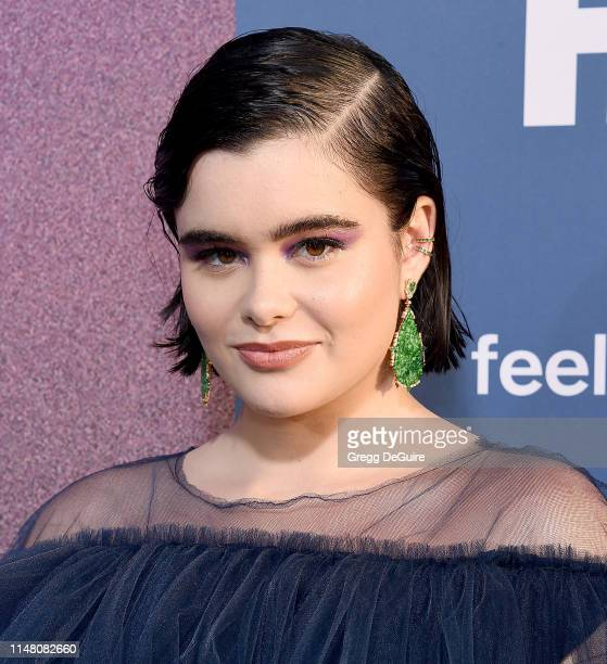 Barbie Ferreira arrives at the LA Premiere Of HBO's Euphoria at The Cinerama Dome on June 4 2019 in Los Angeles California