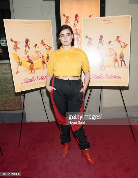 Barbie Ferreira attends the Skate Kitchen New York premiere at IFC Center on August 7 2018 in New York City