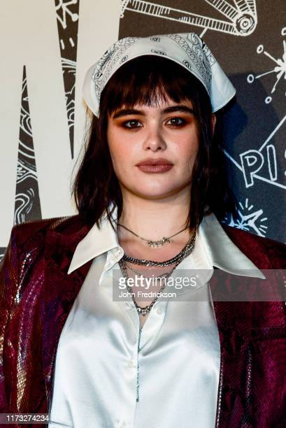 Barbie Ferreira attends the Tommy x Zendaya Runway Show at The Apollo Theater on September 08 2019 in New York City