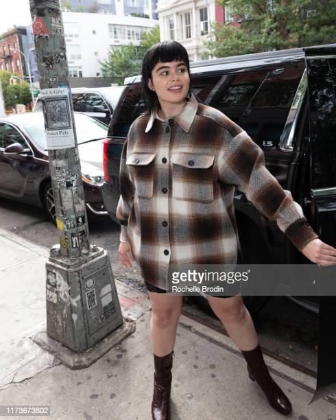 Barbie Ferreira is seen on September 10, 2019 in New York City.