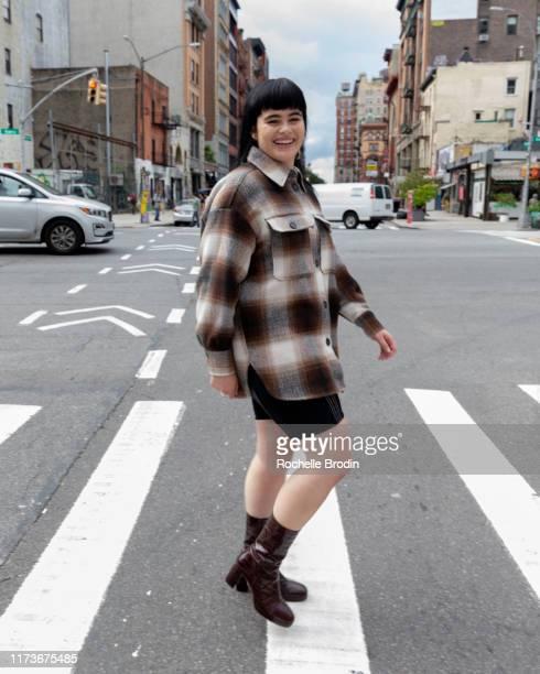 Barbie Ferreira is seen on September 10 2019 in New York City
