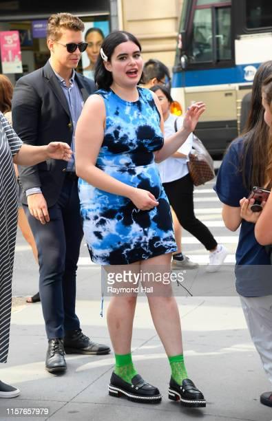 Barbie Ferreira is seen outside Build Studio on July 25 2019 in New York City