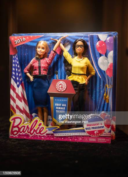 Barbie for President and Vice President This Barbie set was released in 2016, the same year Hillary Clinton ran as the first woman presidential...