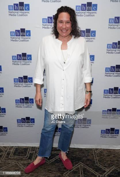 Barbie Kilgman attends the NHMC's 17th Annual Los Angeles Impact Awards luncheon at Hilton Universal City on August 22 2019 in Universal City...