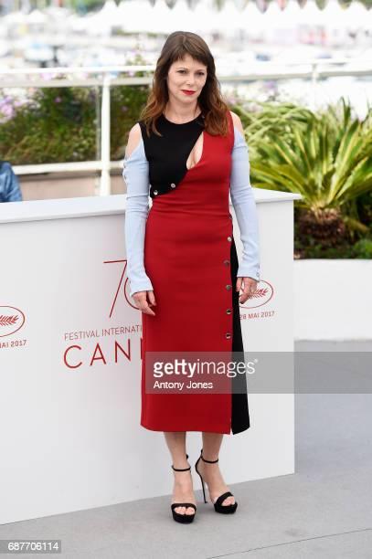 Barbora Bobulova attends the 'Dopo La Guerra Apres La Guerre' photocall during the 70th annual Cannes Film Festival at Palais des Festivals on May 24...