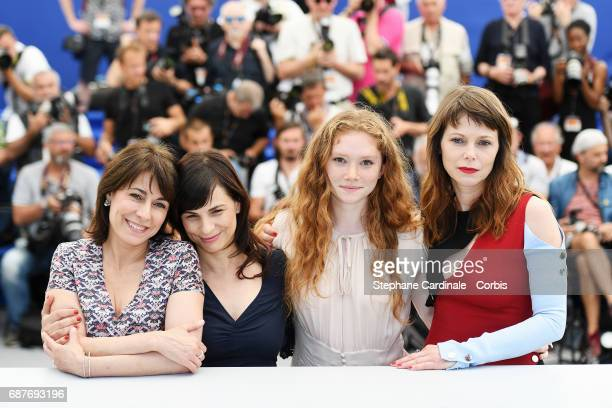 Barbora Bobulova Charlotte Cetaire director Annarita Zambrano and Marilyne Canto attend the Dopo La Guerra Apres La Guerre photocall during the 70th...