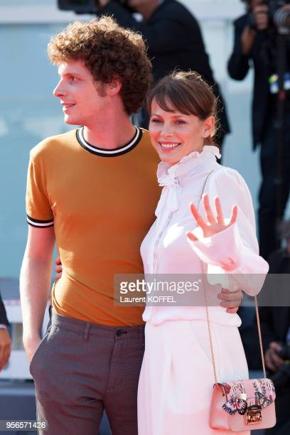 Barbora Bobulova from the movie 'Diva' walks the red carpet ahead of the 'Foxtrot' screening during the 74th Venice Film Festival at Sala Grande on...