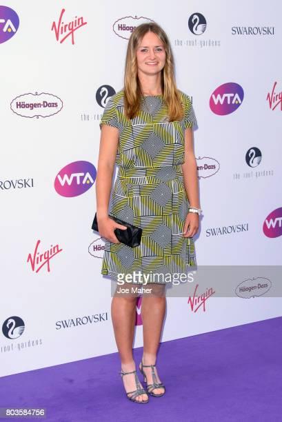 Barbora Krejcikova attends the WTA PreWimbledon party at Kensington Roof Gardens on June 29 2017 in London England