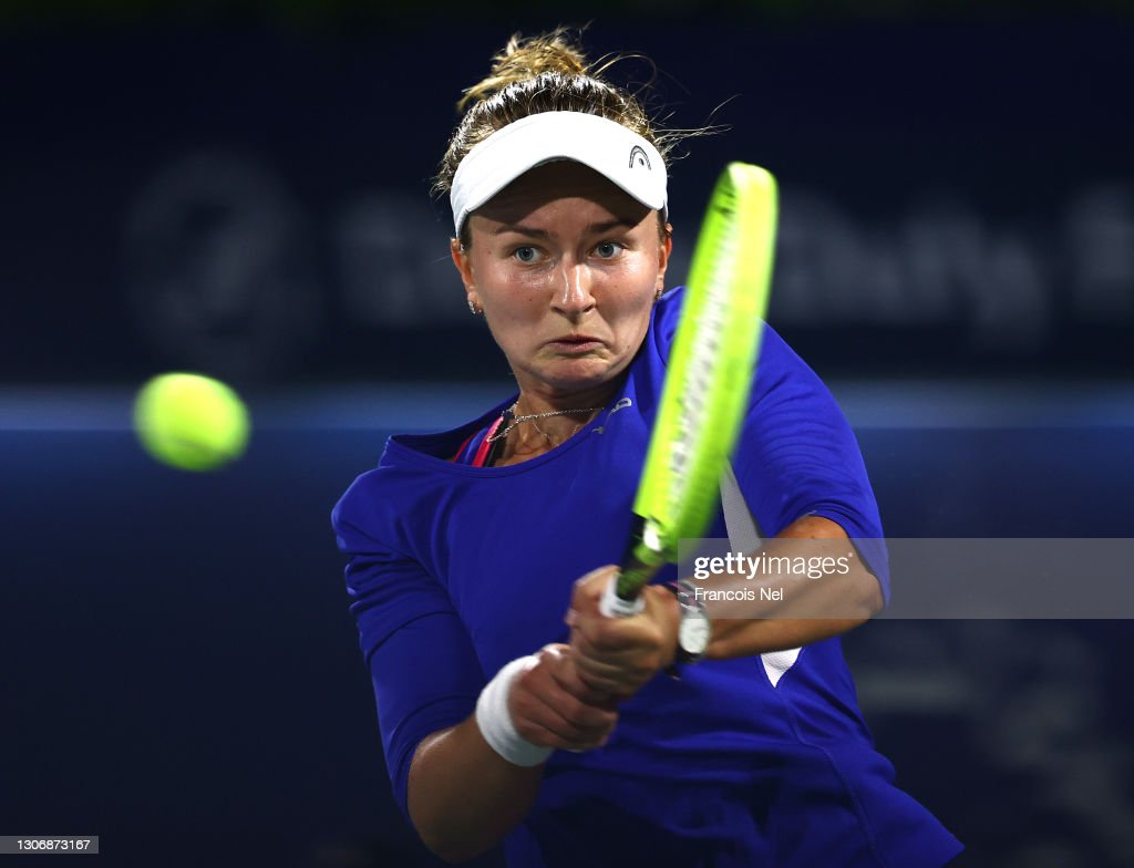 Dubai Duty Free Tennis - Day Seven : News Photo