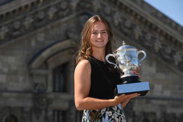 FRA: Photoshoot Barbora Krejcikova - Roland Garros