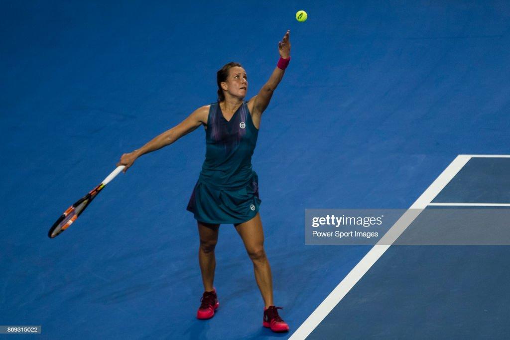 WTA Elite Trophy Zhuhai 2017 - Day 3 : News Photo