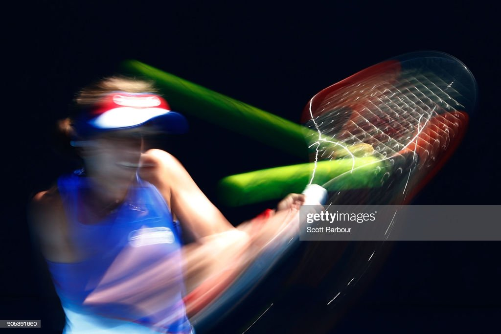 It's All a Blur at the Australian Open