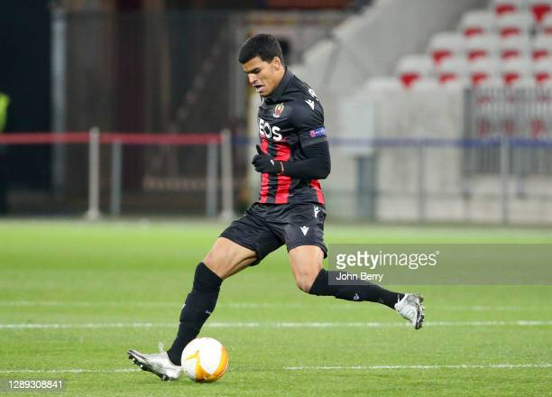 Barbosa Danilo of Nice during the UEFA Europa League Group C stage match between OGC Nice and Bayer 04 Leverkusen at Allianz Riviera stadium on...