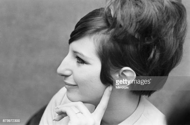 Barbra Streisand, Actress and Singer, Photo-call, London, 20th March 1966.