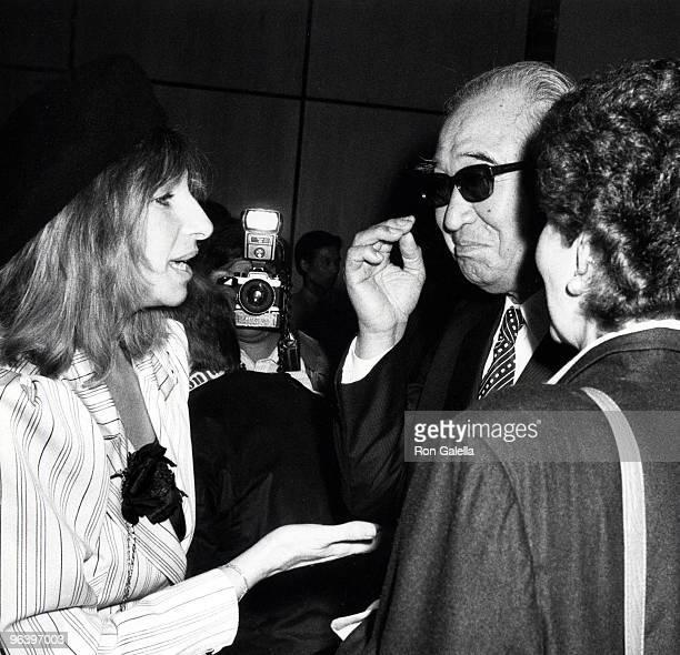 Barbra Streisand and Akira Kurosawa