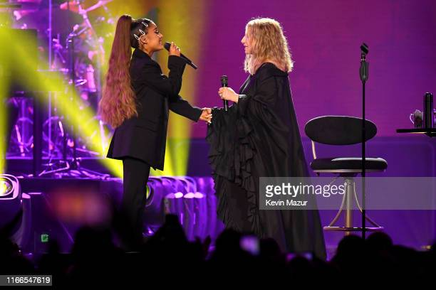 Barbra Streisand and Ariana Grande perform No More Tears the 1979 hit song recorded as a duet by Barbra Streisand and Donna Summer from the album Wet...