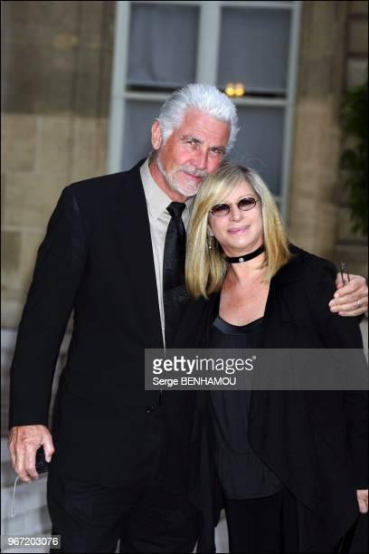 Barbra Streisand and her husband James Brolin