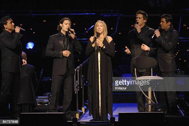 Barbra Streisand and Il Divo