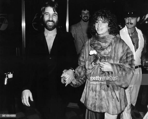 Barbra Streisand and Jon Peters at Studio 54 circa 1977 in New York City