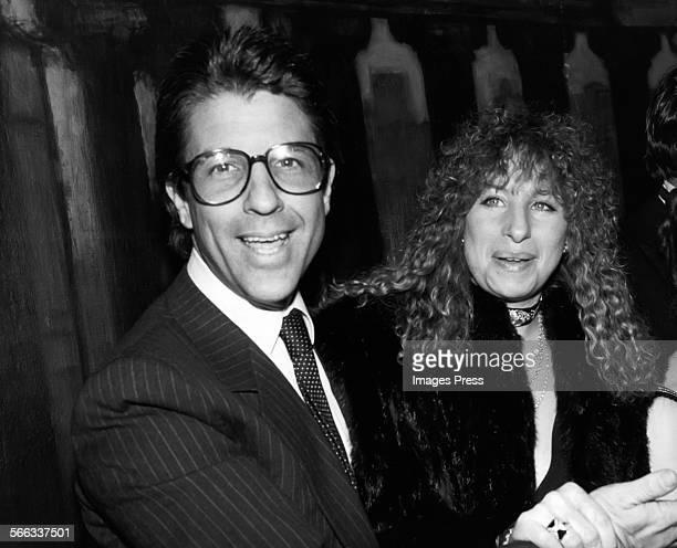 Barbra Streisand and Jon Peters circa 1982 in New York City