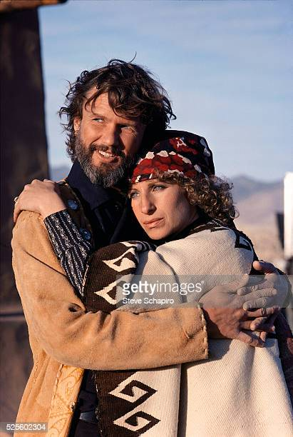Barbra Streisand and Kris Kristofferson in A Star is Born