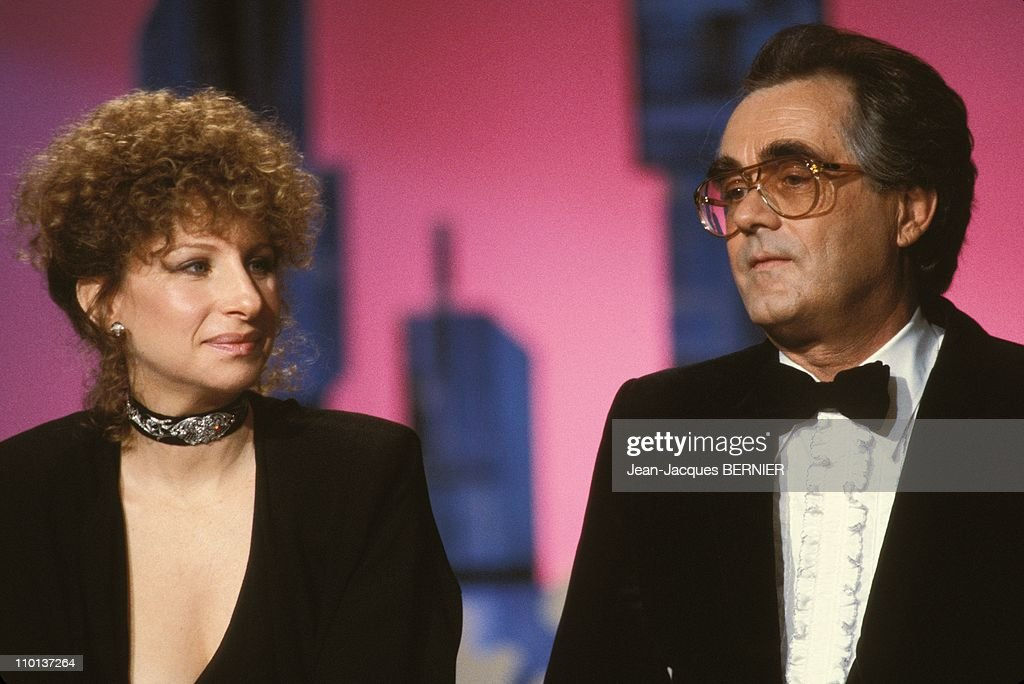 Michel Legrand on March 17th,1984. : News Photo